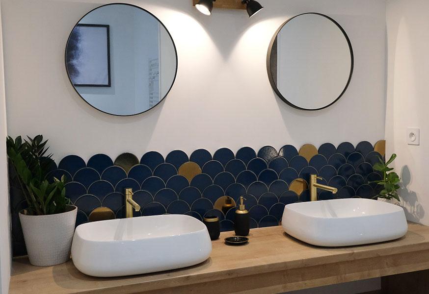 chambre 1 lavabos La Grande Clotte
