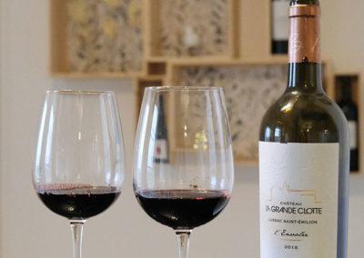 presentation de vins la Grande Clotte